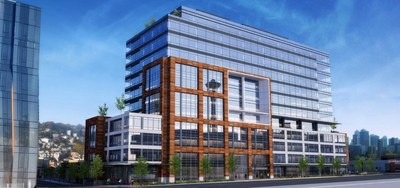 Rendering of The Alexandria Center at 400 Dexter. Credit Collins Woerman