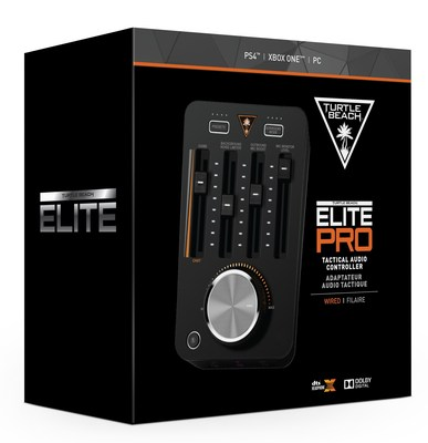 Featuring DTS Headphone:X(R) 7.1 Surround Sound, Superhuman Hearing(TM) and much more, players can dominate the competition with the most powerful gaming audio controller ever designed for eSports - the ELITE PRO T.A.C.