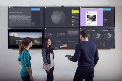 Brandwatch Vizia Social Media Command Center (PRNewsFoto/Brandwatch)