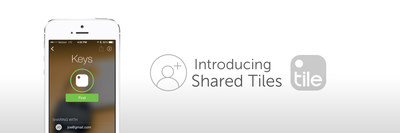 Tile's Sharing Feature