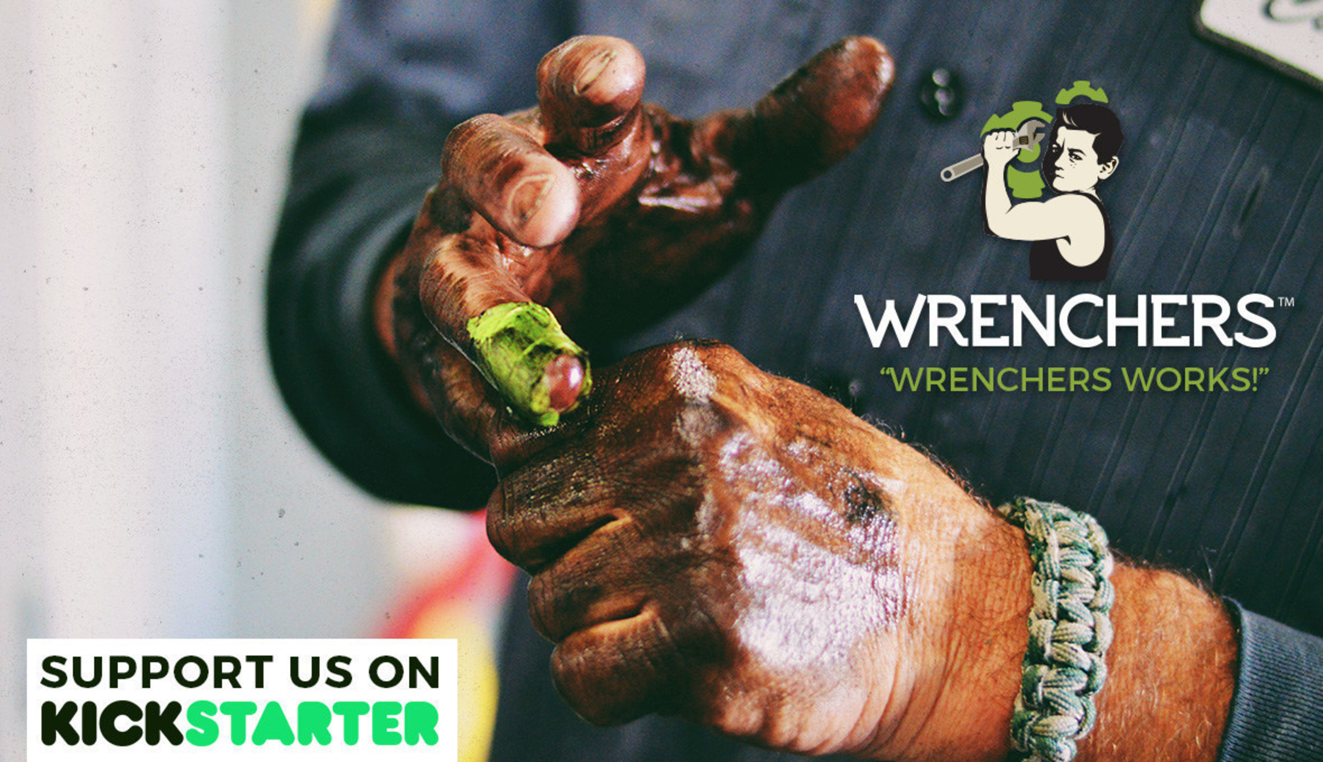 Wrenchers™ Body Products Launches Kickstarter Campaign
