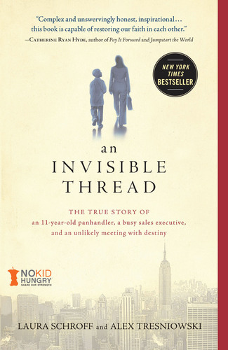 New York Times Bestseller An Invisible Thread Partners with Share Our Strength to Support the No