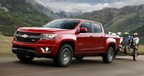The 2015 Chevy Colorado is set to arrive shortly at Robbins Chevrolet near Houston, Texas! Contact the dealership for further details today! (PRNewsFoto/Robbins Chevy)