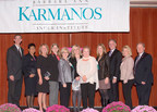The Karmanos Cancer Institute in Detroit presents its 2014 Heroes of Breast Cancer honorees: (L-R)  Rob Davidek, CBS Radio Detroit; Teresa Rodges, McLaren Oakland Foundation's Sister & Sister Free Mammogram Program; Nancy Iles, LMSW, Karmanos Cancer Institute; Karin List, Ph.D., Karmanos and Wayne State University; Kris Kelly, WWJ-TV/WKBD-TV Detroit;  Jenny Stewart; Maureen Keenan Meldrum, Karmanos and Susan G. Komen; Ellyn Davidson, Brogan & Partners; Peter Lichtenberg, Ph.D., Wayne State University; Hope Bradford, Kelly Services; and Michigan Sen. Glenn Anderson. Also honored was Welcome Missionary Baptist Church.