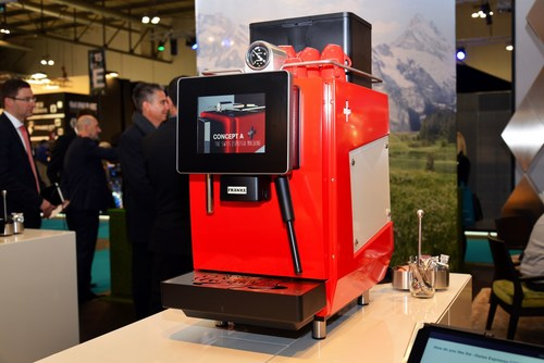 Impression des Franke Auftritts an der HOST Milano, der weltweit groessten Messe fuer Equipment, Coffee und ...