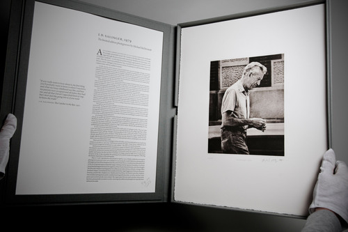 Salinger Prints Debut with Documentary