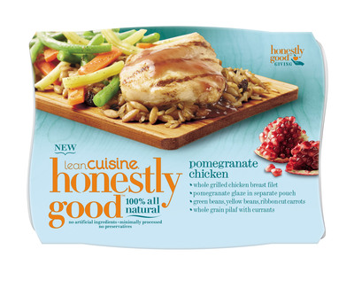 NEW LEAN CUISINE(R) Honestly Good(TM) Pomegranate Chicken.  (PRNewsFoto/LEAN CUISINE)