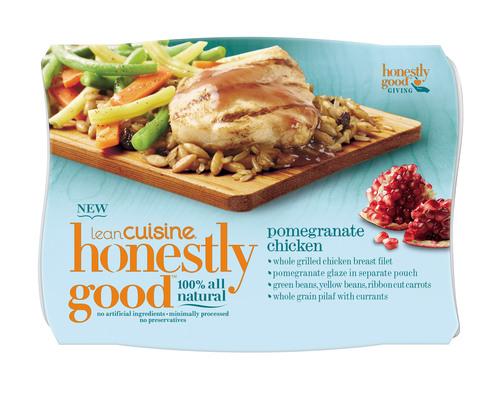 NEW LEAN CUISINE(R) Honestly Good(TM) Pomegranate Chicken.  (PRNewsFoto/LEAN CUISINE)