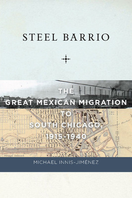 STEEL BARRIO book cover.  (PRNewsFoto/NYU Press)