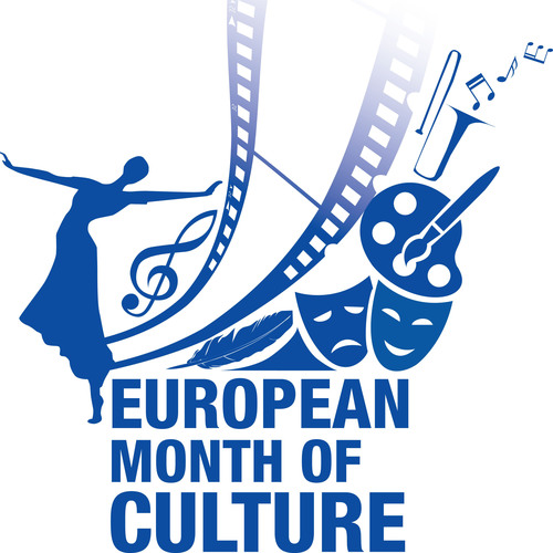 European Month of Culture Logo.  (PRNewsFoto/Delegation of the European Union to the United States)