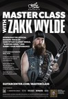 Guitar Center Announces New Zakk Wylde Guitar Line and Exclusive Master Class with the Famed Guitarist