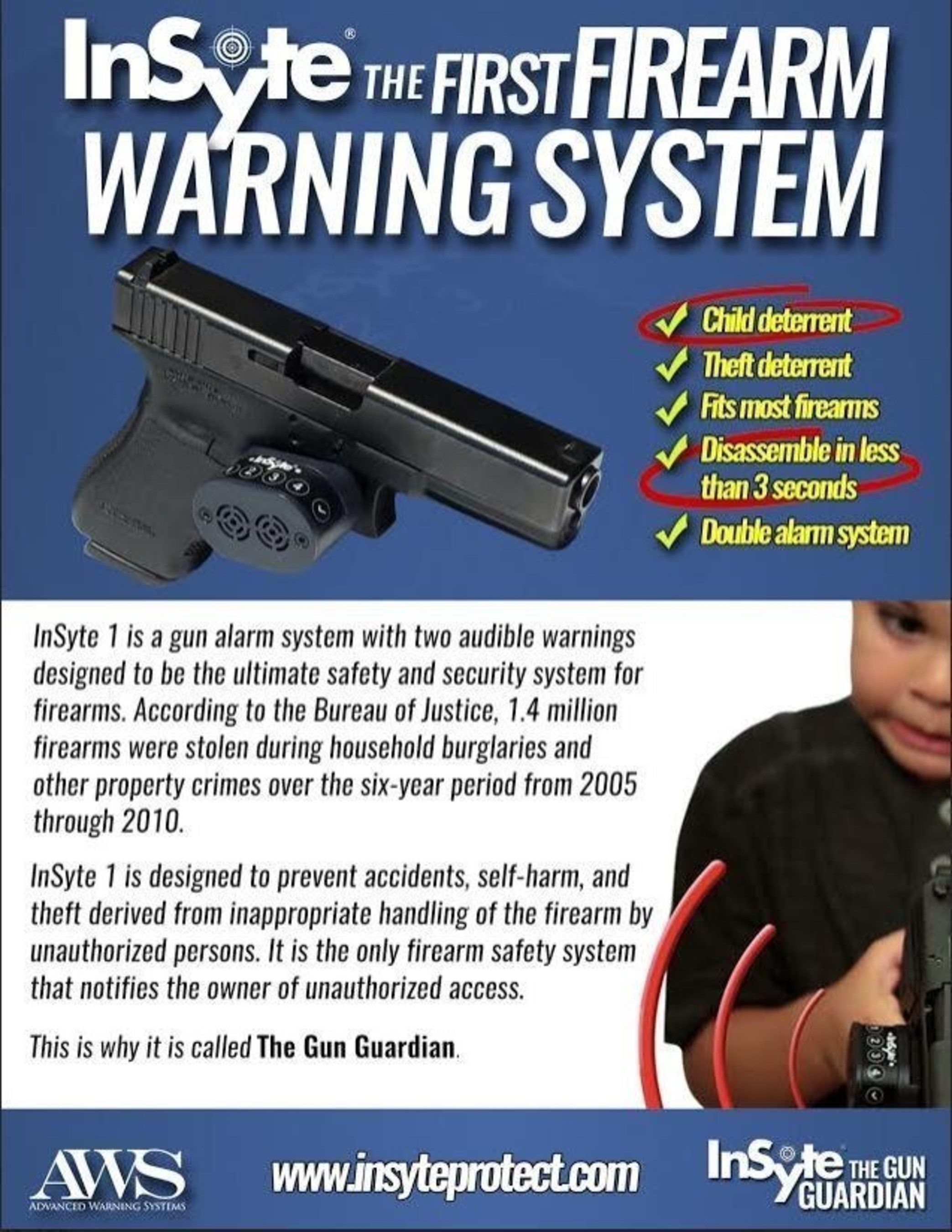 InSyte, the First Firearm Warning System