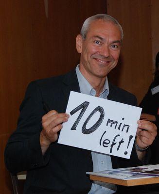 Rémi Denoix asks : 10 minutes left for Europe?