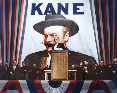 Citizen Kane; the original studio negative from the Movie Star News Archive purchased by Capital Art, Inc. (CAPA)