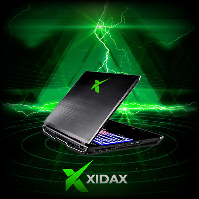 New Xidax Gaming Laptops Powered by NVIDIA GeForce GTX 10-Series
