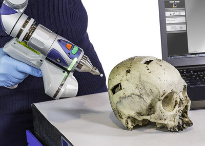 Quickly, accurately, and safely perform non-contact 3D scanning of fragile forensic artifacts and evidence