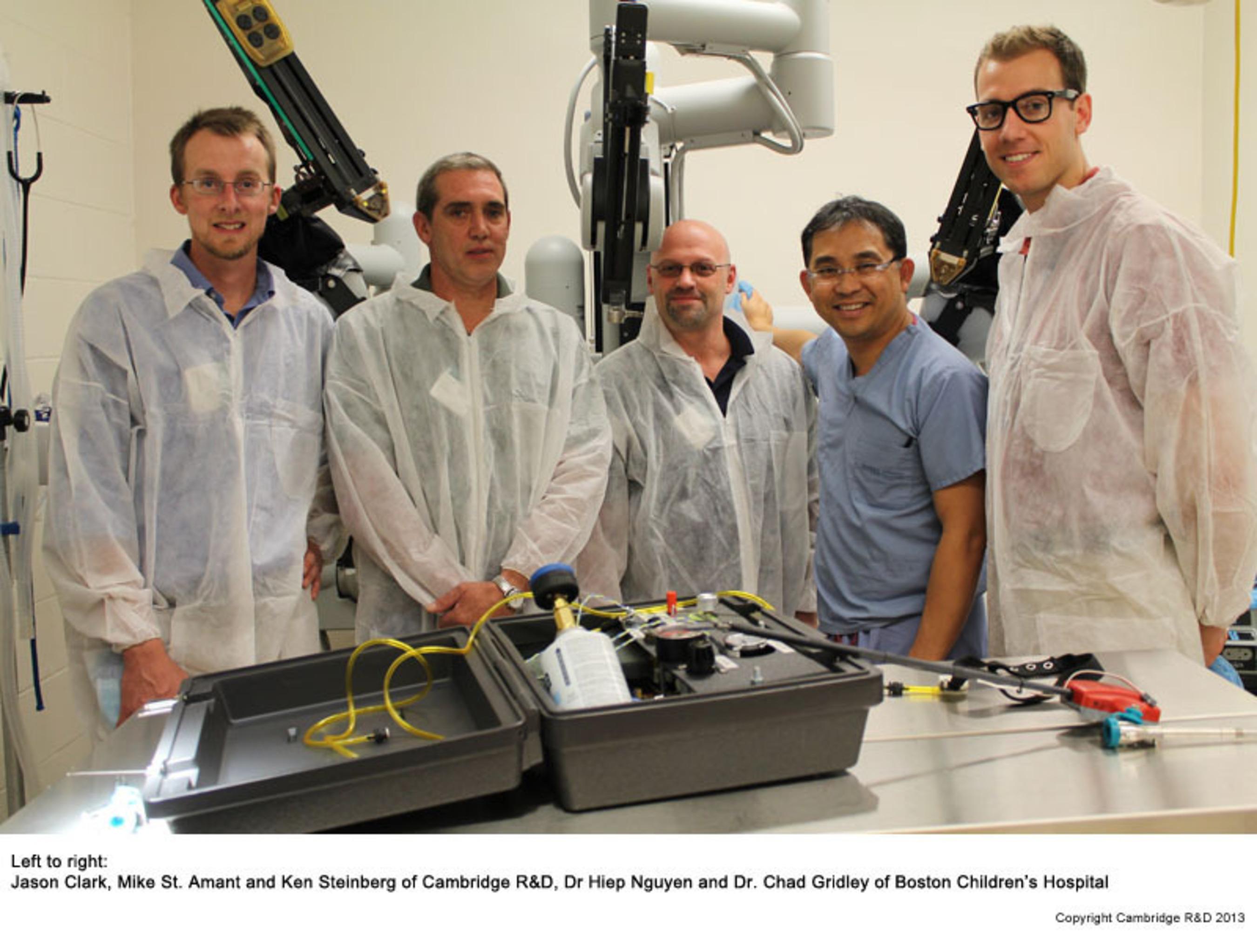 Cambridge Research & Development - Haptic.  (PRNewsFoto/Cambridge Research & Development)