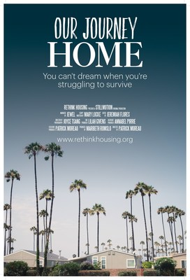 """ReThink: Why Housing Matters and Stillmotion  Launch """"Our Journey Home,"""" a documentary narrated by singer-songwriter and ReThink Ambassador, Jewel, focused on the common belief that everyone deserves a safe and stable place to call home. Releasing October 8, 2015."""