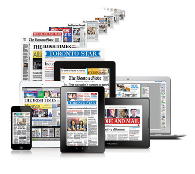 SmartEdition, powered by PressDisplay technology, offers publishers a fully customizable digital edition platform with powerful and proprietary back office reporting and analysis tools (Reading Map, Ad Value Map) that help them optimally manage their content and advertisers.  (PRNewsFoto/NewspaperDirect)