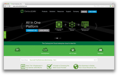 The new CenturyLink Cloud – based on Tier 3's public, multi-tenant cloud – targets complex enterprise workloads and is user-friendly for businesses of all sizes. CenturyLink Cloud is available now at www.centurylinkcloud.com.  (PRNewsFoto/CenturyLink, Inc.)