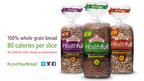 New Healthfull(R) whole grain bread available in three different varieties