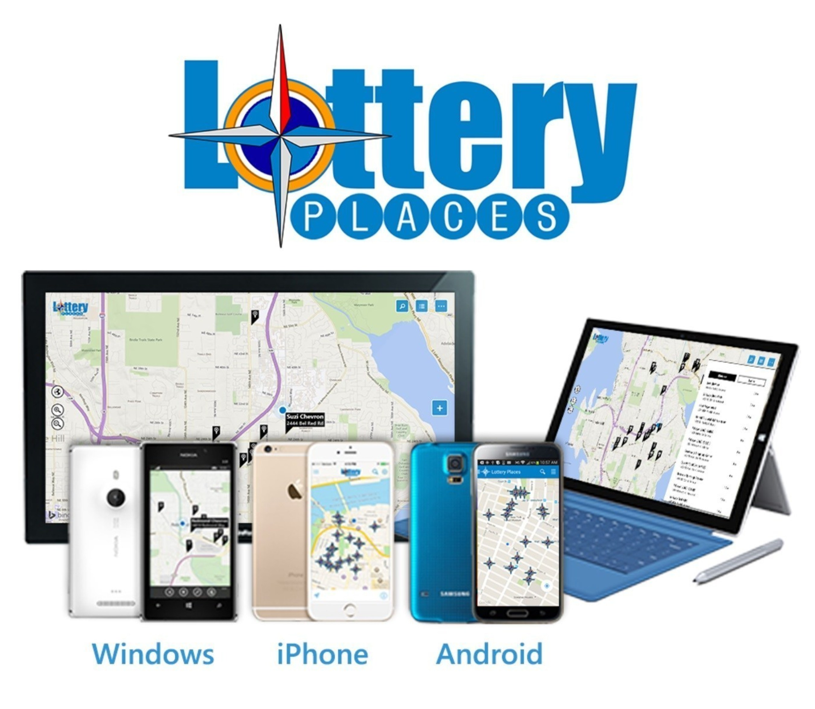 New Mobile App Finds Nearest Lottery Retailers