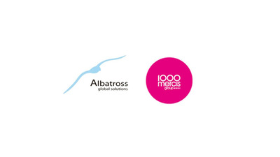 Albatross Global Solutions and 1000Mercis Group.  (PRNewsFoto/Albatross Global Solutions)