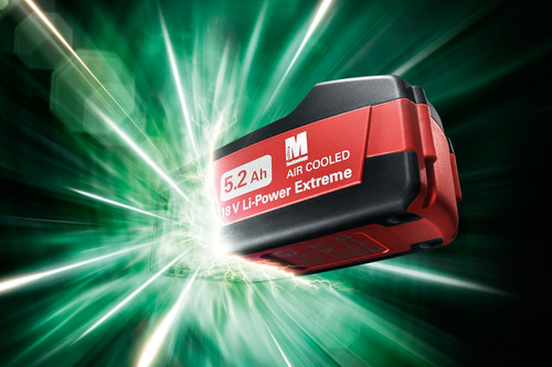 Metabo Introduces the First 5.2 Ah Battery System.  (PRNewsFoto/Metabo)