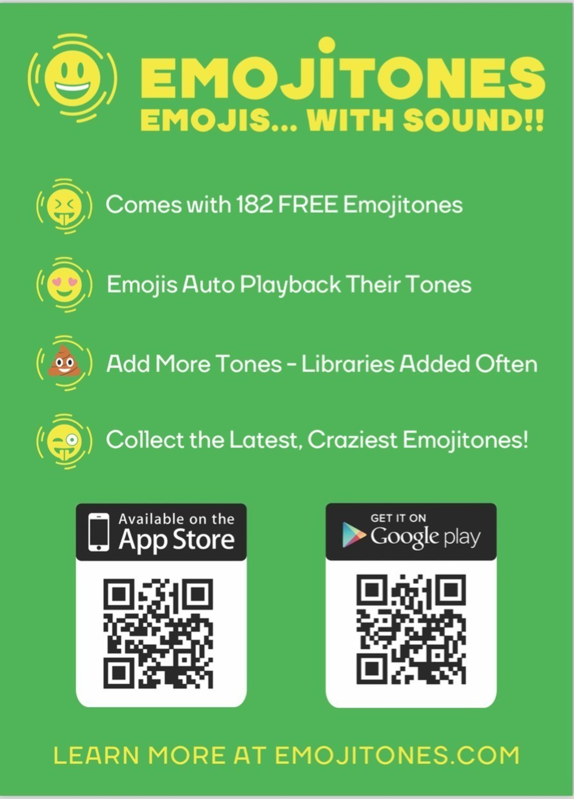 Join The Revolution! 'Irish start up Emojitones (http://www.emojitones.com) launches iOS and Android App