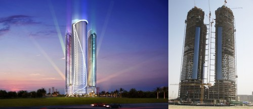 DAMAC Towers by Paramount in the heart of the Burj Area in Dubai is set to become one of the most iconic projects in the city (PRNewsFoto/DAMAC Properties) (PRNewsFoto/DAMAC Properties)