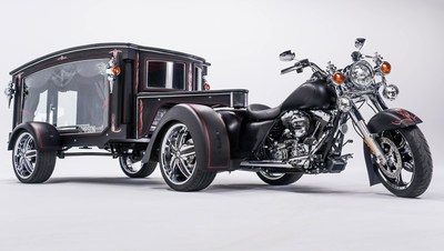 Simpson Family Funeral Homes new 2016 Tombstone Hearse