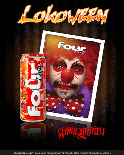 "Phusion Projects, the makers of Four Loko and Poco Loko, announced today that it's turning this year's Halloween into a ""Lokoween"" celebration for fans and consumers. The company will do so through themed programs via its distributor and retail channels, sponsored Halloween events, and by tapping into new offerings on its Facebook page to increase its brand presence during the holiday. Fans are also encouraged to host their own ""Lokoween"" house parties and to share their best ""Lokoween"" costumes through social ..."