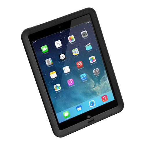The LifeProof fre for iPad Air is available now in black and white. The waterproof iPad Air case includes a ...