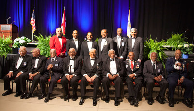 PenFed leaders attend the Tuskegee Airmen Foundation 75th anniversary commemoration in downtown Montgomery, Alabama, March 22.