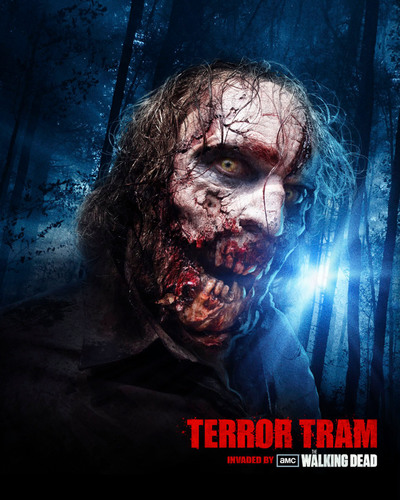 New 'Terror Tram:  Invaded by The Walking Dead' Experience at Universal Studios Hollywood Sets