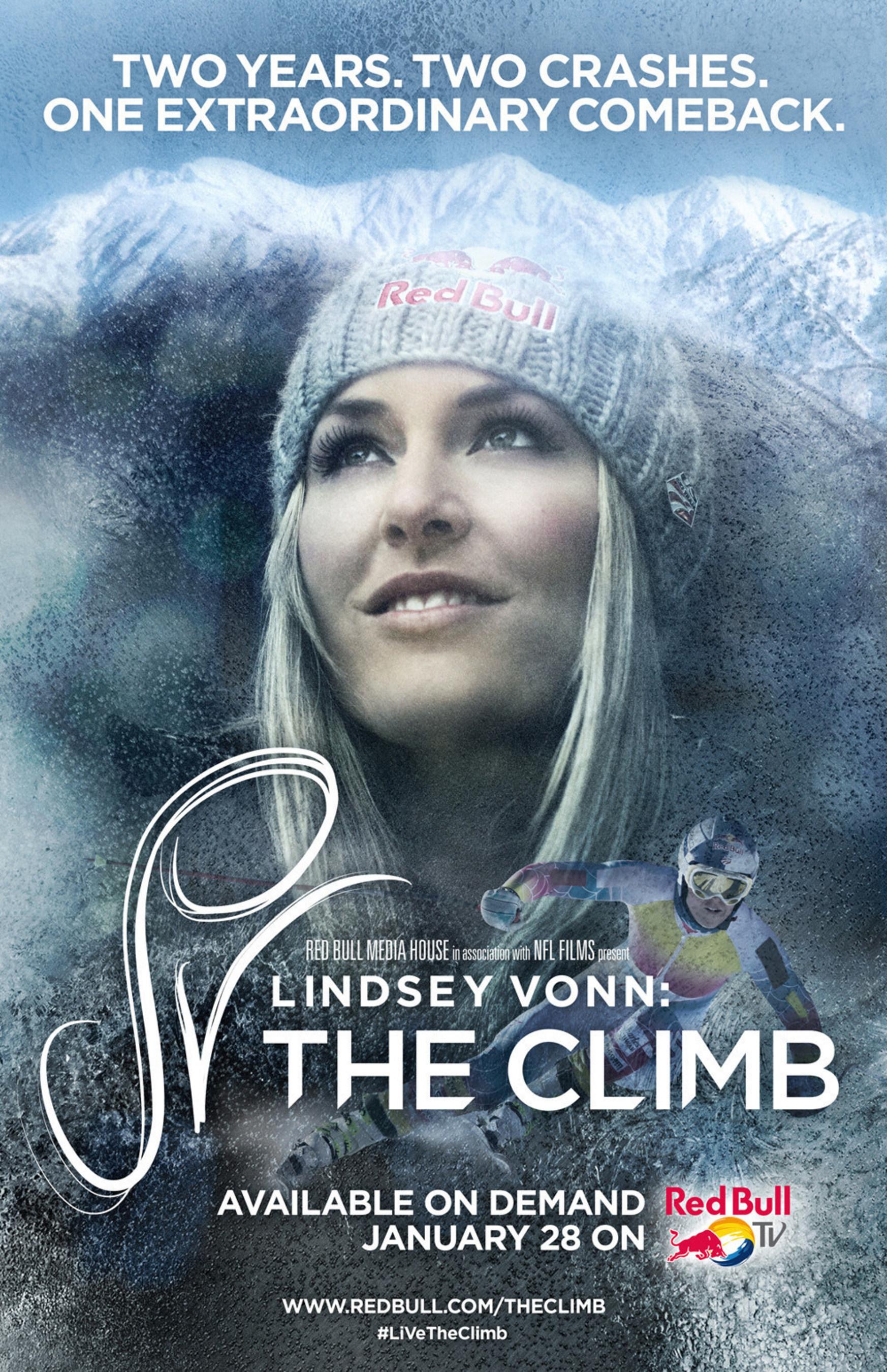 Lindsey Vonn: The Climb debuts on Red Bull TV January 28