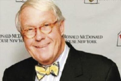 David Bell, Advertising Hall of Fame, Recipient of the Pat Martin Leadership Award.