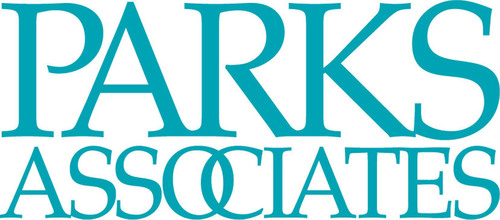 Parks Associates logo. Parks Associates is an internationally recognized market research and consulting company specializing in emerging consumer technology products and services. (PRNewsFoto/Parks Associates)