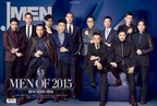 Michael Lee on JMEN's 'Men of the Year 2015' (pictured seated second from right)