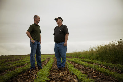Like many farmers across Illinois, Alan and Mark Hill are committed to trying new sustainable practices on their farm near Morris, Ill. The Hills are among more than 50 farmers featured on the Conservation Story Map, a joint project of several agriculture and conservation groups. In addition to highlighting farmers who are implementing conservation practices across Illinois, the interactive map also features local and regional programs supporting their efforts. See the map at www.illinoiscbmp.org/what-illinois-farmers-are-doing/