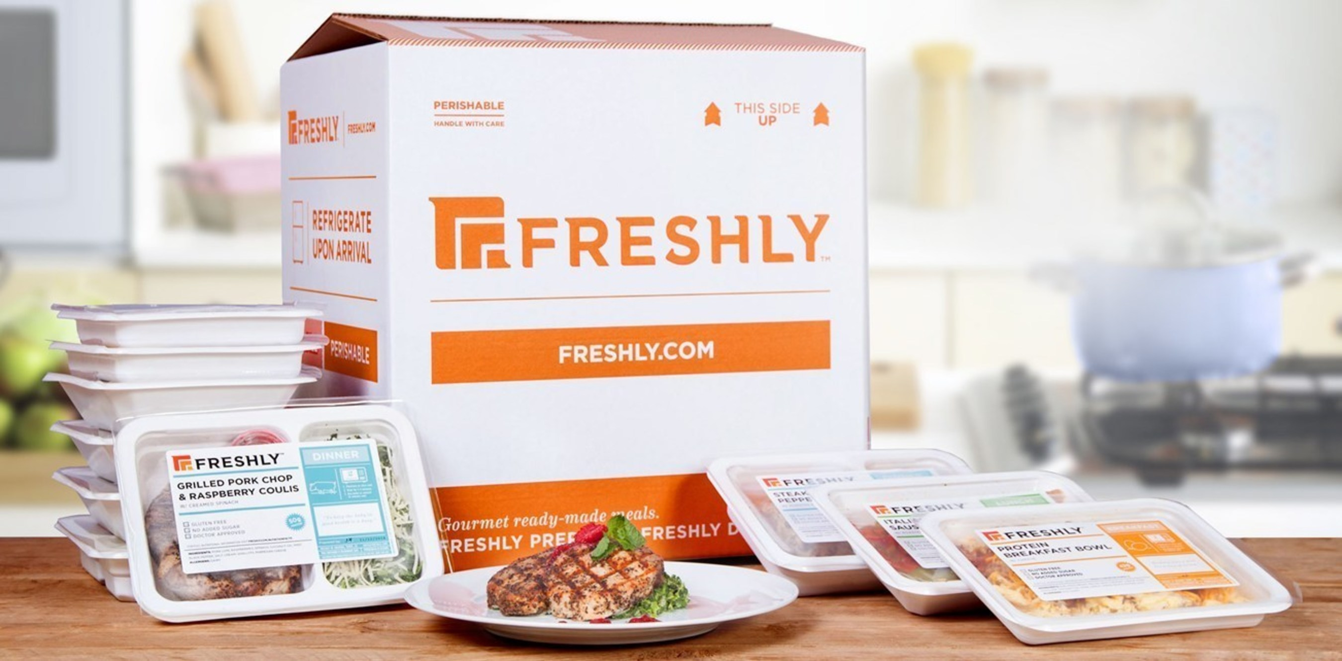Leading gourmet meal delivery company FRESHLY has announced the close of a Series A financing round of $7 million
