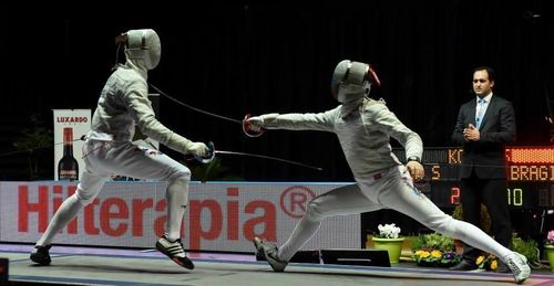 Hilterapia for fencing – Photo: Augusto Bizzi