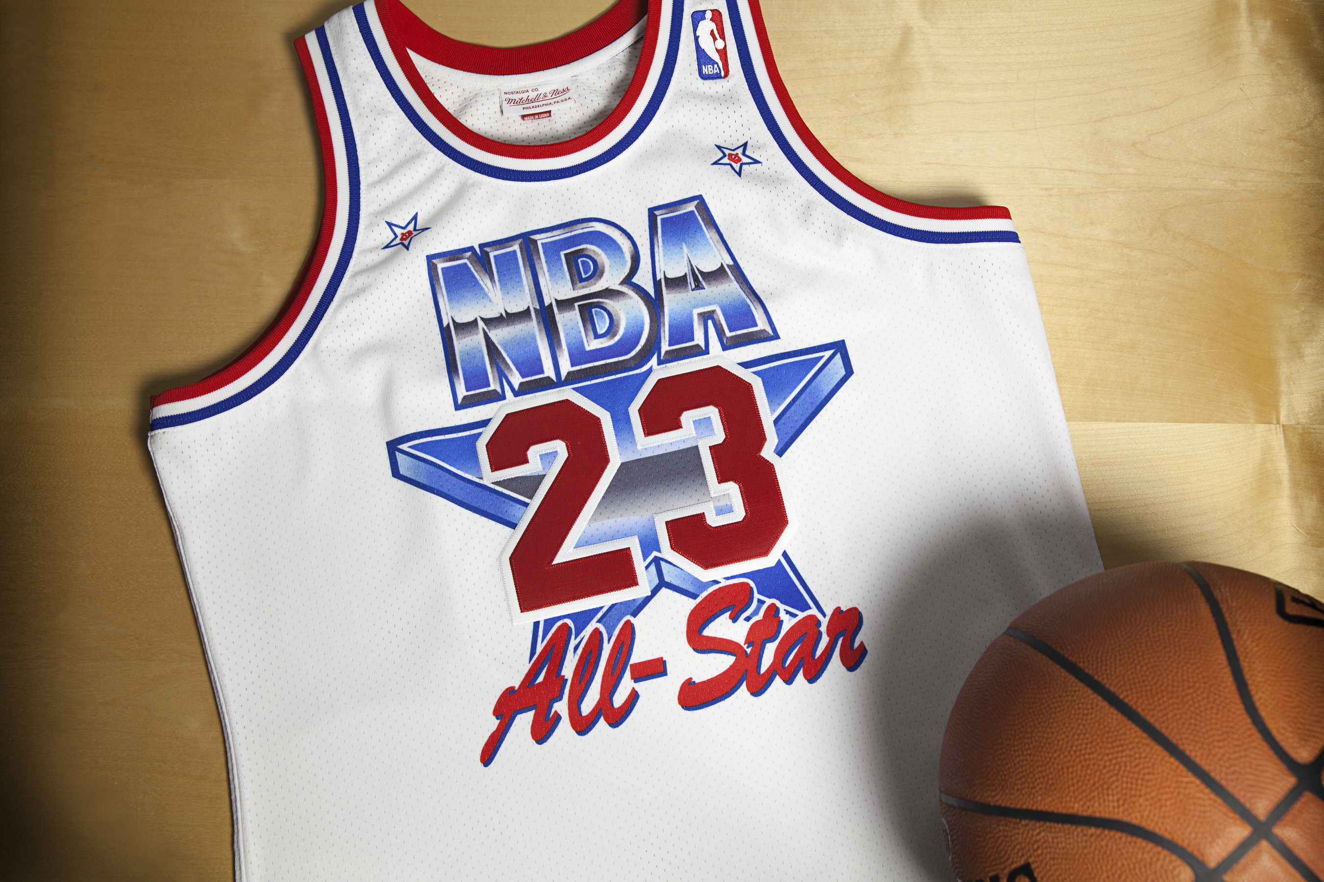best website 30911 a3e47 1991 Michael Jordan EAST NBA All-Star Game Jersey