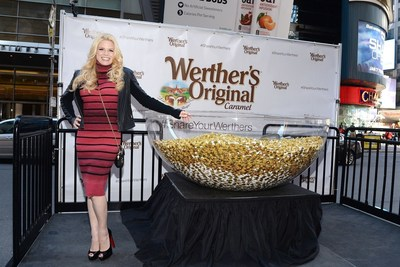 Werther's Original, with the help of actress and Broadway star Megan Hilty, hit the streets and social media yesterday, sharing 1 million pieces of rich, creamy caramel to celebrate National Caramel Day (April 5) #ShareYourWerthers