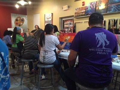 Wounded Warrior Project brings wounded veterans and families together at Alumni event.