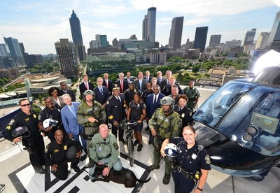 The Georgia Power Foundation announced a $900,000 donation to the Atlanta Police Foundation to purchase tactical body armor including bulletproof vests and helmets for Atlanta police officers. Photo courtesy Atlanta Police Foundation