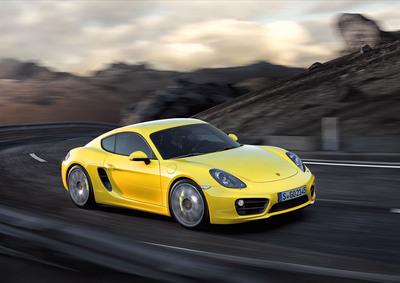 Porsche Unveils All-New Cayman at 2012 Los Angeles Auto Show.  (PRNewsFoto/Porsche Cars North America, Inc.)