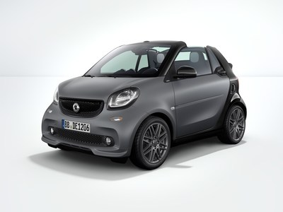 New BRABUS Sport Package now available on smart fortwo coupe and cabrio (European model pictured)