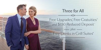Cunard Three for All sale