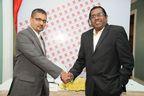 Mr. Sarang Panchal, Managing Director and Mr. Raj Sharma, Chairman, MRSS INDIA